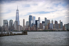 NYC Skyline V (Alexander Day) Tags: nyc ny nj new york jersey city liberty state park sky skyline water river hudson one world trade center skyscrapers architecture alex alexander day