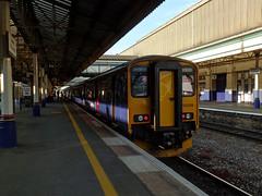 150219 Exeter Sr Davids (Marky7890) Tags: gwr 150219 class150 sprinter 2t27 exeterstdavids railway devon devonmainline train