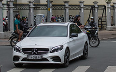 (seua_yai) Tags: automobile car asia vietnam candid people wheels street transportation seuayai vietnamsaigon2019 german mercedes benz amg