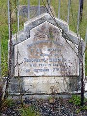 Monument for Trooper .... (Proteus_XYZ) Tags: southafrica freestate karoo bethlehem britishsoldiercemetry angloboerwar burenkrieg kriegsgrab