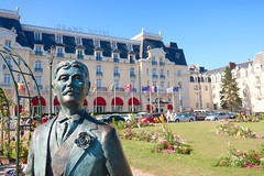 Marcel Proust at the Grand Hotel {195/365} (therealjoeo) Tags: france paris cabourg normandy beach marcelproust proust 365 365project