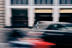 Cyclist No.1 (Jontsu) Tags: cyclist street streetphotography berlin germany deutschland europe color fast fuji fujifilm xt3 35mm