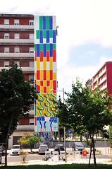 Lisboa - street art (jaime.silva) Tags: franciscovidal murolx19 lisboa lissabon lisbon lisbonne lisszabon lisbona lisabona lisabon lissabonin lissaboni lisabonos lisabonas lizbona lizbon lizbonska portugal portugalia portugalsko portugália portugalija portugali portugale portugalsk portogallo portugalska portúgal painting portugāle streetart streetartist street muralpainting pinturamural spraypaint spray spraypainting graffiti graf publicart artepublica urban urbanart arteurbana