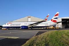 A6-FDT / ZS-ZWY  B737-8KN(WL)  Comair / British Airways (n707pm) Tags: a6fdt boeing 737 737800 b737 737wl airport airline aircraft airplane snn coclare ireland einn iac painthangar painting comair britishairways zszwy 03072019 shannonairport cn40247 rineanna