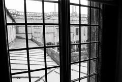 (a.pierre4840) Tags: olympus om2n zuiko 24mm f28 35mmfilm ilford ilfordfp4 fp4 bw blackandwhite noiretblanc window lines architecture wiltshire england