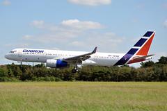 CU-T1702  TU-204-100E(WL)  Cubana (n707pm) Tags: cut1702 tupolev tu204 airport airline aircraft airplane cubana einn snn ireland coclare 03092019 cn1450743764042 shannonairport