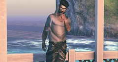 Contemplation (Virtualconceit.com) Tags: volthair mf steinwerk straydog meva addicted ink catwa suicidalunborn belleza