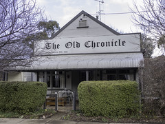 Old Chronicle building in Carcoar NSW - see below (Paul Leader - Paulie's Time Off Photography) Tags: australia newsouthwales oldbuilding heritagelisted building architecture streetphotography olympus nsw streetscape heritagebuilding carcoar paulleader olympusem1x