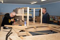 Work on Dave's layout (200/365) (johnstewartnz) Tags: 200365 day200 onephotoaday oneaday onephotoaday2019 365project project365 canon canonapsc apsc eos 100canon 7dmarkii 7d2 7d canon7dmarkii canoneos7dmkii canoneos7dmarkii 2470 2470mm ef2470mmf4l canonef2470f40l flash ex580ii modelrailroad modelrailway pfegroup ho hoscale