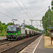 Bonn Oberkassel ELL 193 750 met graanwagens zuidwaarts