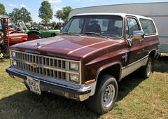 Blazer (Schwanzus_Longus) Tags: oyten german germany us usa america american old classic vintage vehicle car 4x4 awd 4wd offroad offroader suv chevy chevrolet blazer