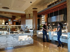 Dessert bar, hot food counter - Kitchen Workshop, Crown Casino Melbourne (avlxyz) Tags: buffet allyoucaneat casino