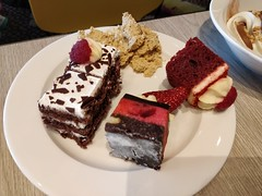 Black forest, coconut cherry slice, red velvet cake - Kitchen Workshop, Crown Casino Melbourne - Ee Leng's (avlxyz) Tags: