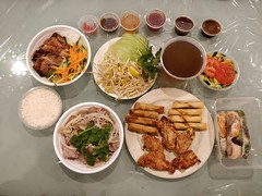 Takeaway dinner from Taste of Pho, Bentleigh (avlxyz) Tags: bunthitnuong