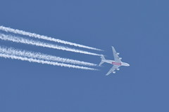 A6-EVF A380-842 Emirates (eigjb) Tags: ireland dublin plane airplane contrail aircraft aviation transport jet aeroplane a380 flyover spotting ott airliner 2019 overflight a6evf boston emirates airbus dubia ek238 a380842