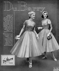DuBarry 1955 (barbiescanner) Tags: vintage retro fashion vintagefashion 50s 50sfashions 1950s 1950sfashions 1955 dubarry vintageadvertising vintagebrides doloresparker theograham 50s50sfashions