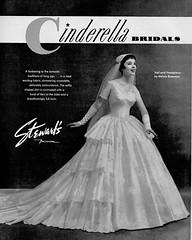 Cinderella Bridals 1955 (barbiescanner) Tags: vintage retro fashion vintagefashion 50s 50sfashions 1950s 1950sfashions 1955 cinderellabridals vintageadvertising vintagebrides vintageweddingdresses ritaegan