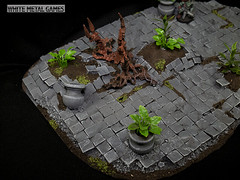 Jungle Courtyard (whitemetalgames.com) Tags: whitemetalgames wmg white metal games painting painted paint commission commissions service services svc raleigh knightdale northcarolina north carolina nc hobby hobbyist hobbies mini miniature minis miniatures tabletop rpg roleplayinggame rng warmongers wargamer warmonger wargamers tabletopwargaming tabletoprpg jungle courtyard terrain