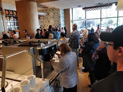 Queue for food at 12pm Friday - Kitchen Workshop, Crown Casino Melbourne (avlxyz) Tags: buffet allyoucaneat casino