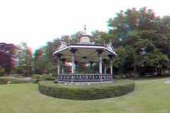 Oranjepark Apeldoorn 3D GoPro (wim hoppenbrouwers) Tags: oranjepark apeldoorn 3d gopro anaglyph stereo redcyan