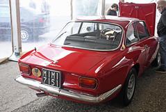 Alfa Romeo 1750 GT véloce coupé (1968) // MI-M17151 (baffalie) Tags: auto voiture ancienne vintage classic old car coche retro expo italia sport automobile racing motor show collection club course race circuit italie padoue fiera