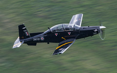 Texan in the wild. (Newage2) Tags: raf valley lowlevel lowflying lfa7 machloop wales texan t1 t6c spur