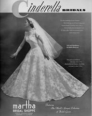 Cinderella Bridals 1955 (barbiescanner) Tags: vintage retro fashion vintagefashion 50s 50sfashions 1950s 1950sfashions 1955 cinderellabridals vintageadvertising vintagebrides vintageweddingdresses
