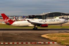 Virgin Atlantic | Airbus A330-300 | G-VUFO | London Heathrow (Dennis HKG) Tags: aircraft airplane airport plane planespotting canon 7d 70200 virginatlantic virgin vir vs london heathrow egll lhr airbus a330 a330300 airbusa330 airbusa330300 gvufo