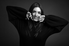 Liliana (luca.onnis) Tags: lucaonnis photography portrait portraiture happiness smile beautifulgirl blackandwhite
