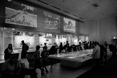 Hiroshima - Peace Memorial Museum East Building (-dow-) Tags: japan hiroshima giappone 広島 peacememorialmuseum 広島平和記念資料館 日本 monochrome fujifilm x70 eastbuilding