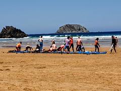 Surf eskolakoa klasea (eitb.eus) Tags: eitbcom 19426 g1 tiemponaturaleza tiempon2019 bizkaia ibarrangelu begoñabarrutia