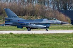 Royal Netherlands Air Force F-16AM J-003 (Gideon van Dijk) Tags: ehlw lwd leeuwarden leeuwardenairbase vliegbasis vliegbasisleeuwarden aviation aircraft airport airplane vliegtuig vliegveld plane planespotting planes luchthaven luchtvaart klu koninlijke koninklijke luchtmacht koninklijkeluchtmacht rnlaf royalnetherlandsairforce royal netherlands air force fighter jet