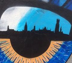 Detail #kriebelart #kriebel #bruges #brugge #streetart #graffiti #stencil #pochoir #eye #eyes #skateparkentrepot (_Kriebel_) Tags: instagramapp square squareformat iphoneography uploaded:by=instagram