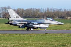 Royal Netherlands Air Force F-16AM J-362 (Gideon van Dijk) Tags: ehlw lwd leeuwarden leeuwardenairbase vliegbasis vliegbasisleeuwarden aviation aircraft airport airplane vliegtuig vliegveld plane planespotting planes luchthaven luchtvaart klu koninlijke koninklijke luchtmacht koninklijkeluchtmacht rnlaf royalnetherlandsairforce royal netherlands air force fighter jet