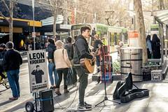 Melbourne Australia (Qicong Lin(Kenta)) Tags: d5 nikon artist musicians streetshot streetphotography street people australia melbourne