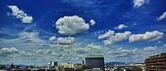 20190515_DP0Q8941-21x9-mod (NAMARA EXPRESS) Tags: blue sky cloud nature landscape spring fine daytime color japan outdoor wide sigma osaka ultrawide foveon quattro toyonaka x3 superwide spp dp0 namaraexp foveonclassicblue spp661 town 21x9