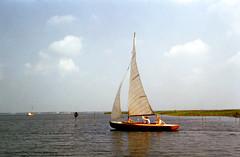 Seiltur på Slotermeer i Friesland (ca. 1965)