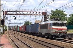 50276-7 Le Havre - Bordeaux Hourcade (bb_17002) Tags: station gare véhicule extérieur route chemin de fer locomotive nuit horizon crépuscule voiture ville bb22200 naviland fret sncf railway