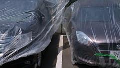 20190513_P1060029-16x9 (NAMARA EXPRESS) Tags: 16x9 street car automobile vehicle cover sheet spring daytime fine outdoor color toyonaka osaka japan panasonic lumix dmcgm1 gm1 20mm f17 asph namaraexp