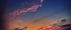 20190514_DP0Q8911-21x9-mod (NAMARA EXPRESS) Tags: sky cloud nature landscape color japan spring outdoor fine wide sigma osaka ultrawide foveon quattro toyonaka x3 superwide spp dp0 namaraexp foveonclassicblue spp661 evening 21x9