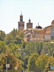Torres de San Cernin desde la Rotxapea (eitb.eus) Tags: eitbcom 20267 g1 tiemponaturaleza tiempon2019 nafarroa pamplonairuña txelofernández