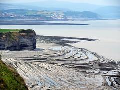 Kilve beach looking towards Watchet (Nevrimski) Tags: kilve beach strata watchet coast