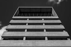 Living in a cube (Iso_Star) Tags: sony ilce7m3 e2875mmf28 architektur gebäude tamron schwarzweiss architecture düsseldorf medienhafen