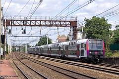 148809 Paris Austerlitz Banlieue - Dourdan (bb_17002) Tags: station gare véhicule extérieur route chemin de fer locomotive nuit horizon crépuscule voiture ville z2n transilien rer paris railway
