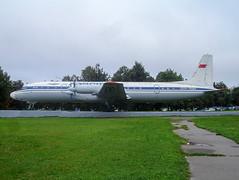 CCCP-75554 IL18 Aeroflot (@Eurospot) Tags: ilyushin il18 aeroflot moscou domodedovo