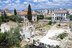 Athens Roman forum (Dr_Babis) Tags: nikon d610 fx greece hellas attiki athens plaka monastiraki marbles