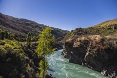 Roaring Meg (CraDorPhoto) Tags: canon6d nature outside outdoors landscape river newzealand sky blue