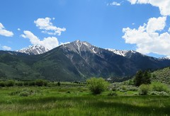 The Mountains Are Calling (Patricia Henschen) Tags: topoftherockies scenicbyway twinlakes lake glacial colorado mountain mountains sawatch range lakecounty sanisabelnationalforest clouds nationalforest sanisabel usda forestservice recreationarea 14ers rocky