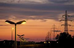 Electricity (CoolMcFlash) Tags: repetition lamp row sky sunset sundown dusk vienna light fujifilm xt2 cloud hintereinander lampe reihe himmel sonnenlicht licht sonnenuntergang abend wien fotografie photography xf18135mmf3556r lm ois wr electricity elektrizität city stadt urban