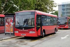 Grant Palmer Plaxton Primo 108 YN08NLE in Bedford (Mark Bowerbank) Tags: grant palmer plaxton primo 108 yn08nle bedford
